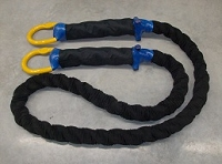 Tow Rope 150,000 Ring/Ring/Sleeve 20 FT