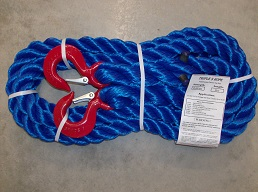Tow Rope 37,500 Hook/Hook 20 FT