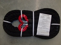 Tow Rope 12,500 Hook/Hook/Sleeve 20 FT