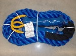 Tow Rope 100,000 Ring/Ring 15 FT